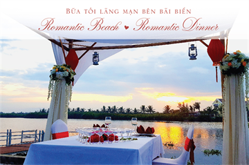 ROMANTIC BEACH & ROMANTIC DINNER